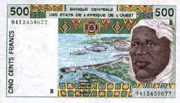 billet de 50 000 francs cfa